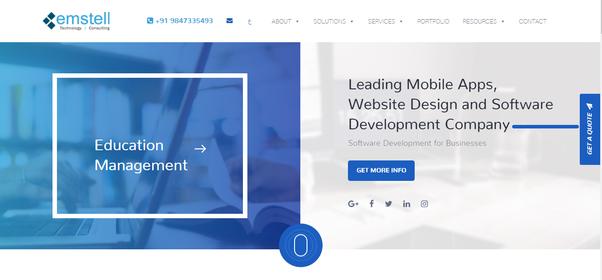 What is the best web design company in kuwait quora in this short duration emstell have emerged as a quality and technology oriented company in kuwait producing superior quality web solutions which are made malvernweather Gallery
