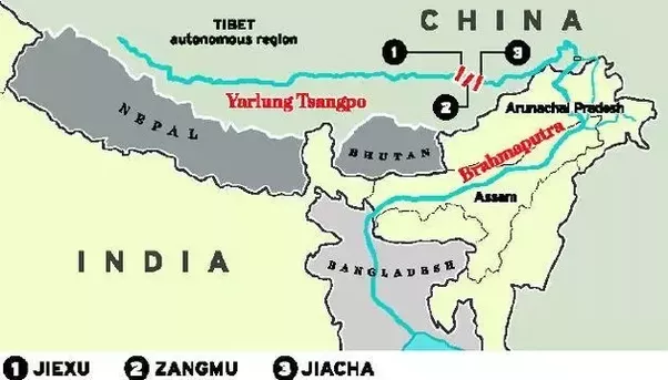 Why are india and vietnam worried about chinese dam and lighthouse when china builds a dam on such an important river it has the ability to control many things below is a map which shows how the chinese are constructing gumiabroncs Choice Image
