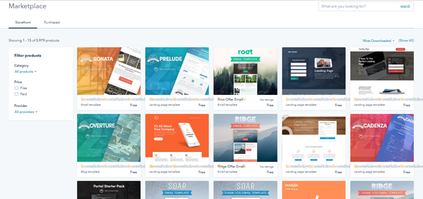 Hubspot Template Marketplace   What Is The Hubspot Marketplace Quora