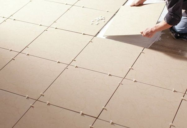 Before You Tile Any Floor Must First Lay Out The Tiles To Gauge Size And Fit No Matter What Kind Of Are Installing Layout Procedures