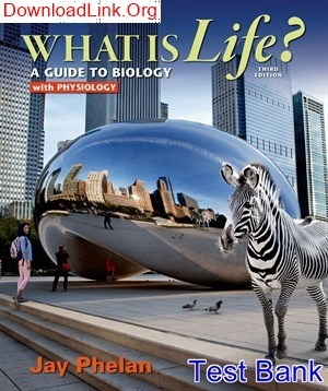 Go guide for what is life? A guide to biology with physiology.