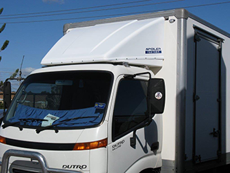 Truck Wind Deflector >> Why Do Many Trailer Trucks Use Wind Deflector On The Top Of Their