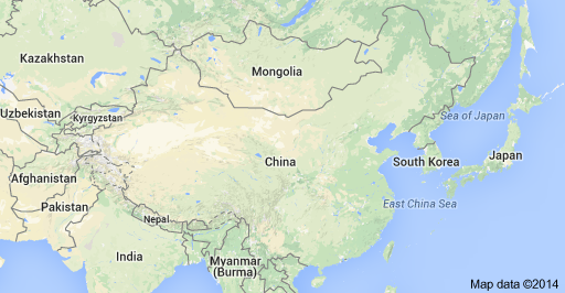 Modern Day China Map.Under Which Dynasty Did China Control Territories That Are Not Part