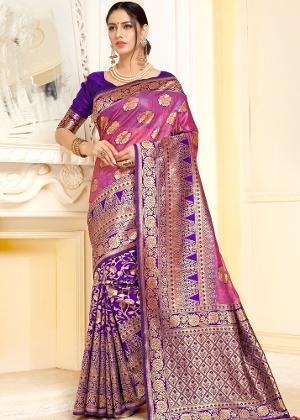 f7ae7ce0ebea4 Where can I get a good quality linen saree online  - Quora