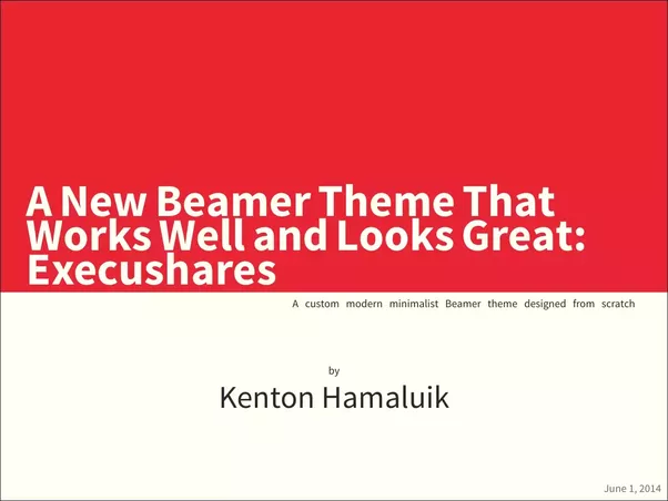 For presentations what are the best beamer themes quora execushares better beamer themes execushares pronofoot35fo Gallery