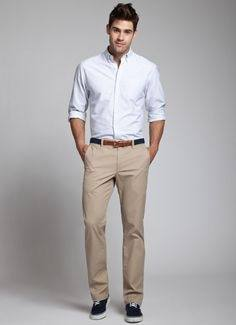 What color shirts goes best with cream color pants? - Quora