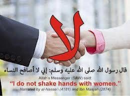 Is shaking hands with a woman haram? - Quora