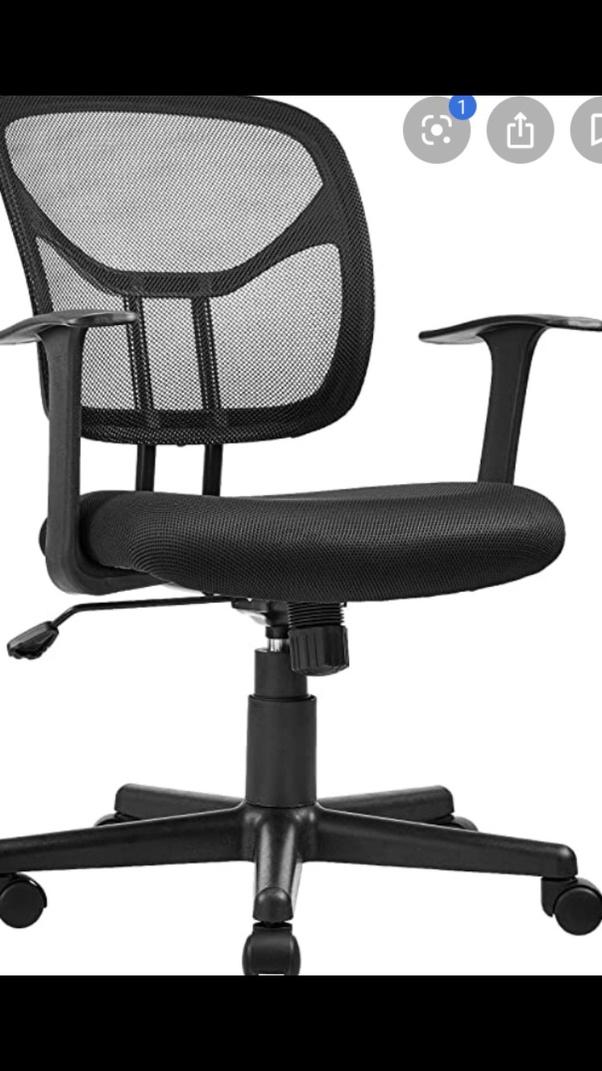 Desk Chair As An Incline