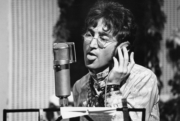 Why did John Lennon vocals always sound like he was standing in a basement  echo chamber singing over the phone? Was that just his voice or the  technology of the time? -