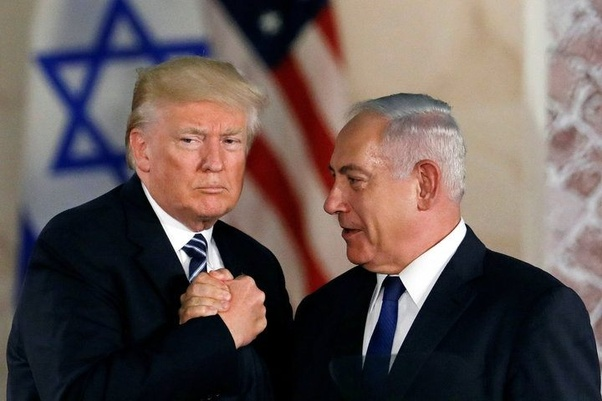 Image result for trump says time for us to recognize israeli sovereignty over golan