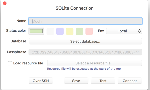 How to use SQLite GUI on a Mac - Quora