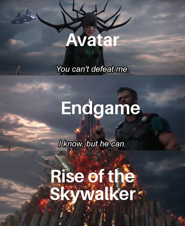 Do You Think Star Wars The Rise Of Skywalker Can Out Perform Avengers Endgame In The Box Office Quora