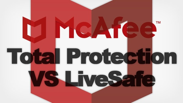 What is the difference between McAfee Total Protection and