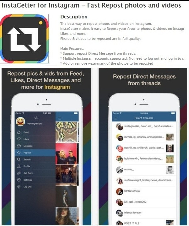 Is there a way to share someone elses instagram photo quora its easy on the instagram post just tap the three little dots in the bottom corner and itll give you a share link you paste this into instagetter ccuart Image collections