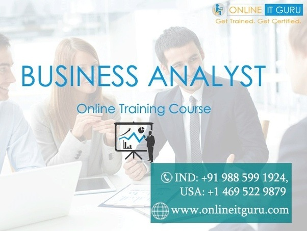 Which is best for BA online training? - Quora