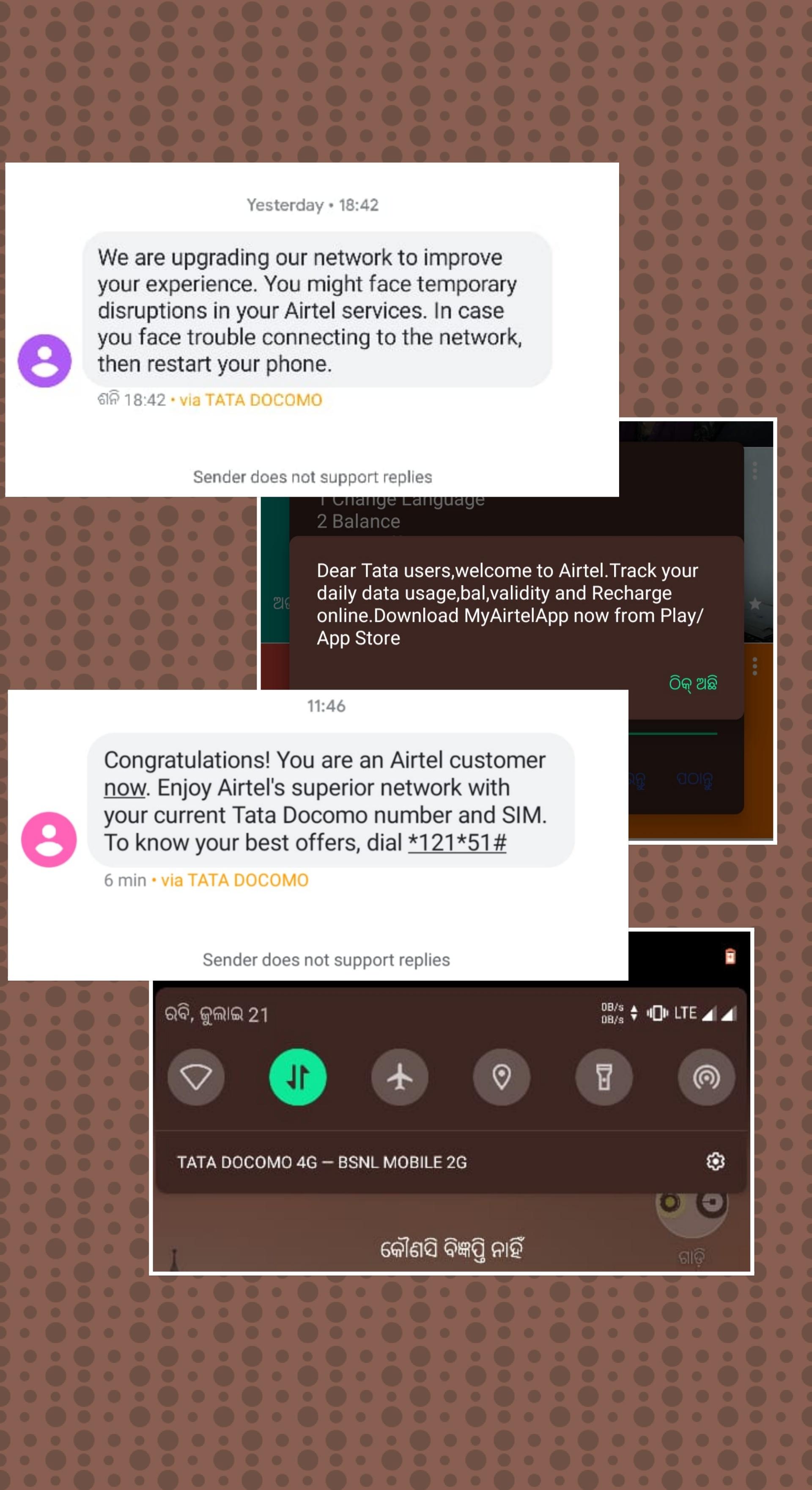 Airtel lapu sim details