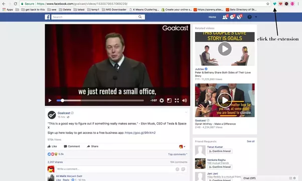 How to download facebook videos with google chrome quora you will be taken to a catchvideo download and convert to mp3 your youtube facebook dailymotion vimeo videos for free page with the video ready to ccuart Images