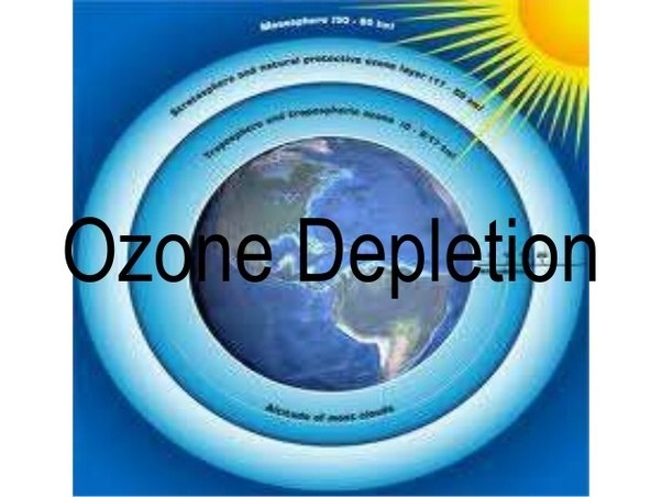 the depletion of the ozone layer Ozone layer depletion facts ozone is a form of naturally occurring gas - and 90% of our planet's ozone is in the stratosphere it is constantly being renewed and.