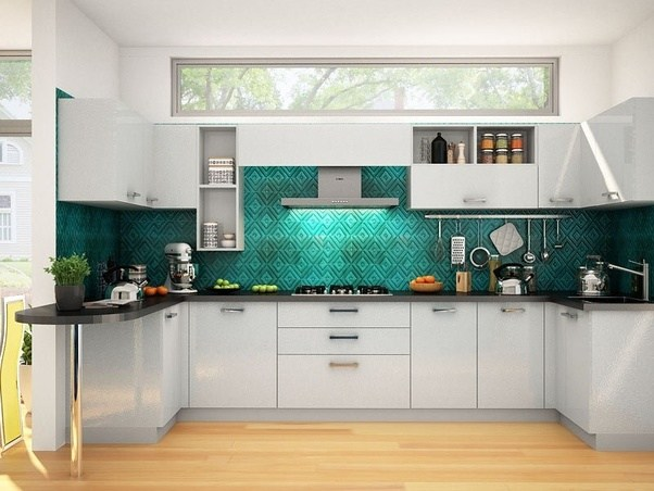 For A Functional Kitchen, Durability Along With Functionality Is A Key  Aspect While Designing A Modern Sleek ...