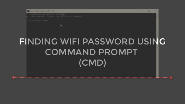 How to to hack new Wifi passwords using Command Prompt - Quora