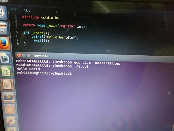 Can a C program be written without main ()? - Quora
