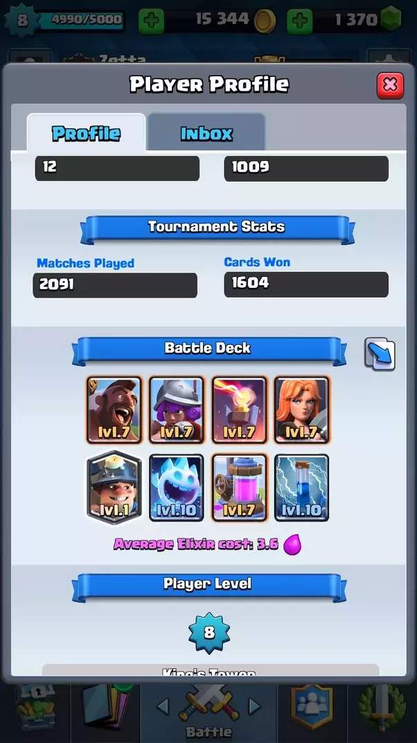 What S A Good Deck In Clash Royale So I Can Get Into