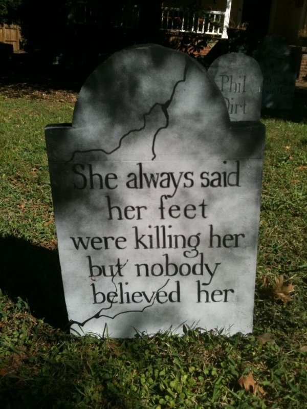 What are some of the funniest epitaphs?