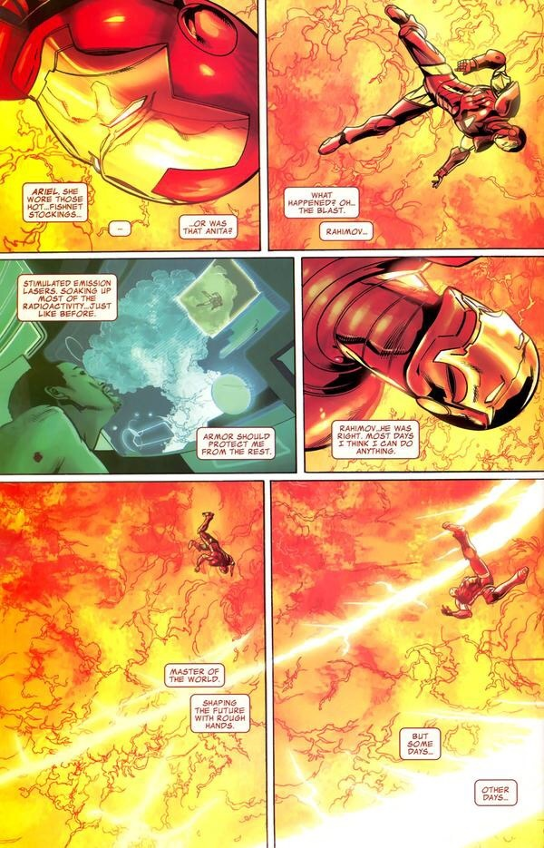 If a nuke was dropped on MCU Tony Stark wearing the Mark 50, would he be  able to survive? How about in the comics? - Quora