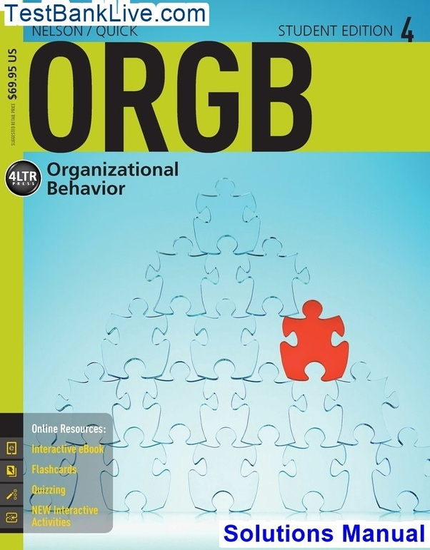 Where can I download ORGB 4 4th Edition Nelson Solutions Manual? - Quora