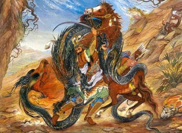 Persian Dragon: Is There A Dragon In The Iranian/Persian Mythology?