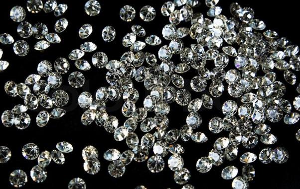 Lighted diamond