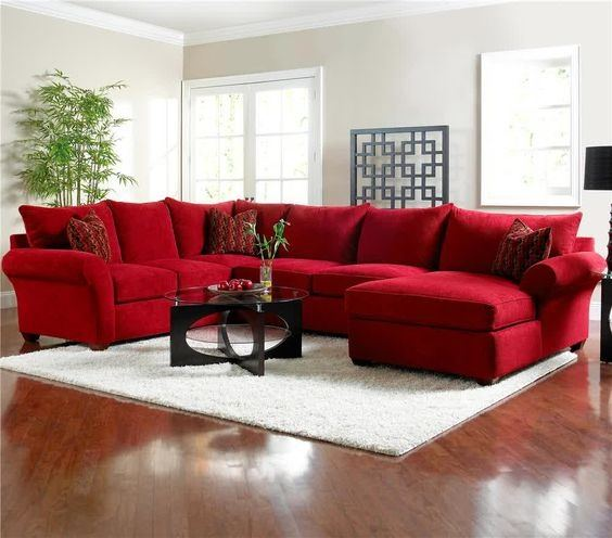 What Color Area Rug Complements A Red Couch Quora