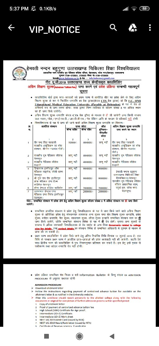 What Is The Fees Structure Of Gmc Haldwani Quora