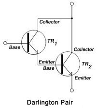 what is darlington pair and its transistor diagram