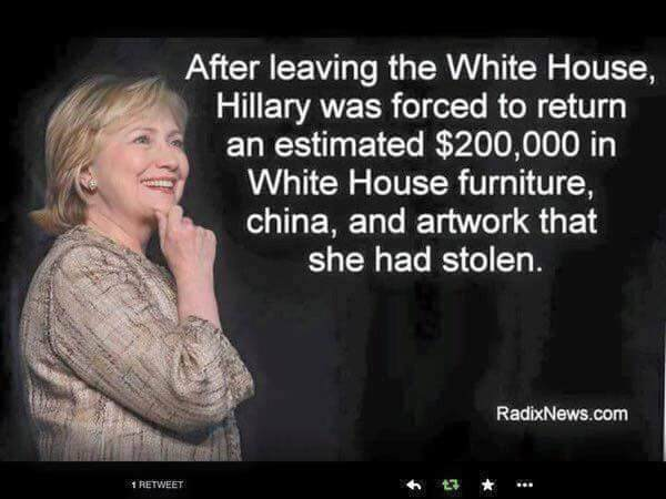 Snopes Clinton White House Furniture