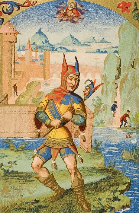 The Jester – Medieval Joke or Genius?   Lions and Lilies  Jester Middle Ages Wear