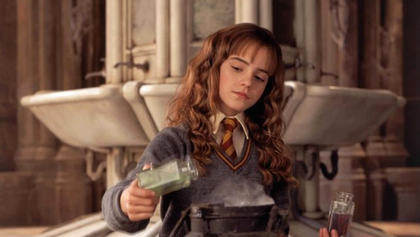 Why was Snape mean when he said Hermione was similar to Lily