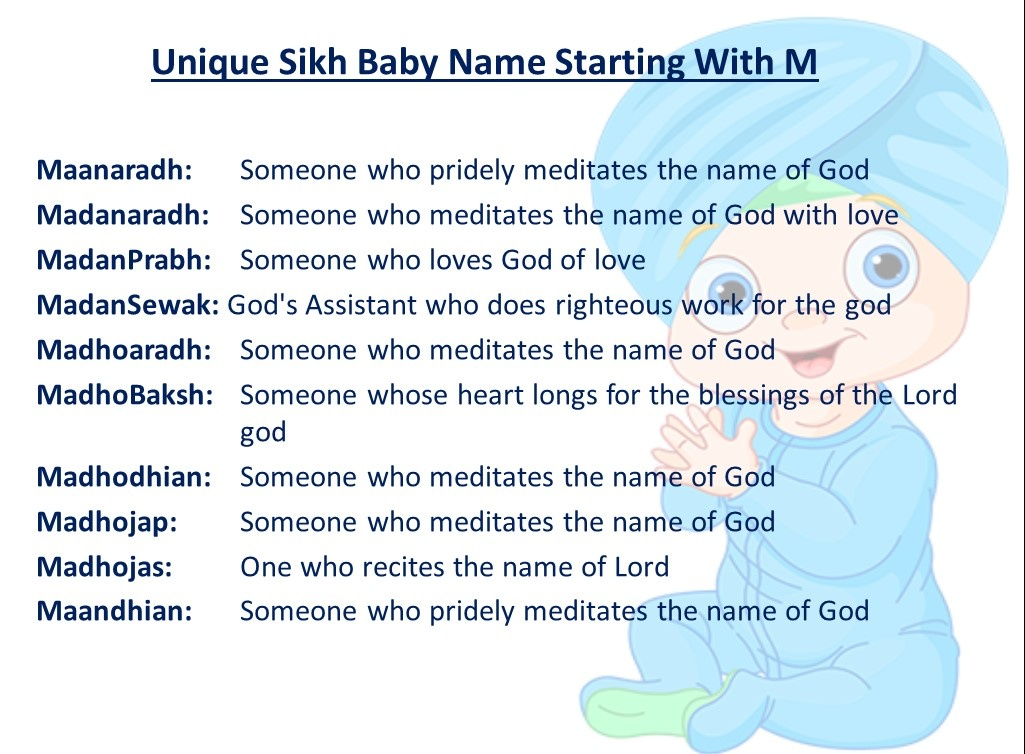What Are Some Unique And Modern Sikh Baby Names Quora