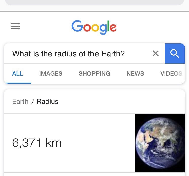 What Is The Radius Of The Earth Quora