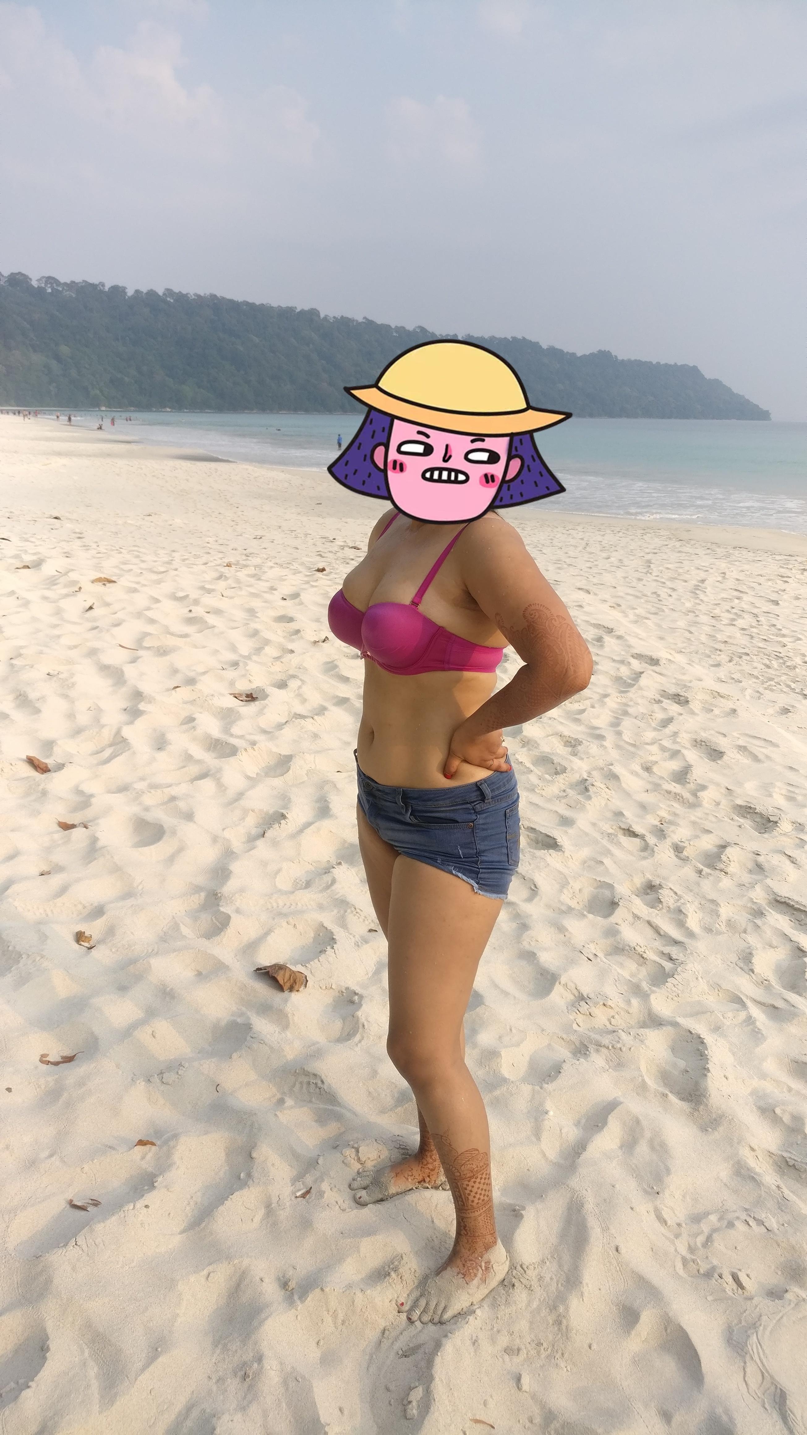 Nude in public dare