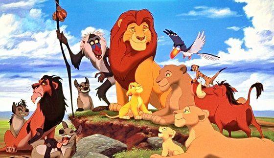 what are the names of the animals in the lion king
