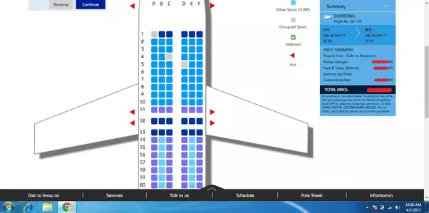 how to choose window seat in china airlines