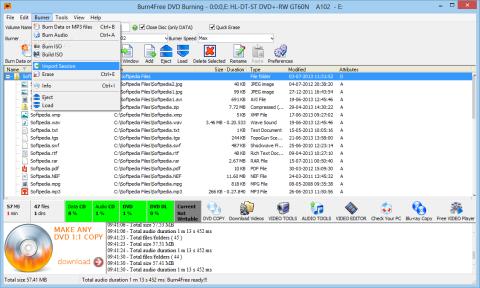 free cd writer software download