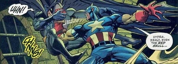 in the comics who won the battle batman vs captain america quora