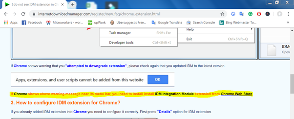 How to add IDM to Chrome - Quora