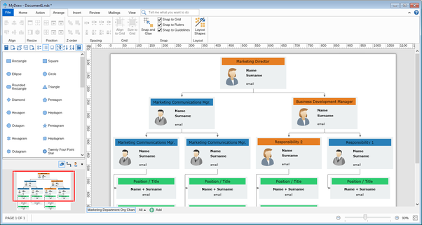 How to create an org chart without visio quora it comes with lots of automatic diagram layouts with many customization options to help you quickly arrange your diagrams when it comes to organizational ccuart Choice Image