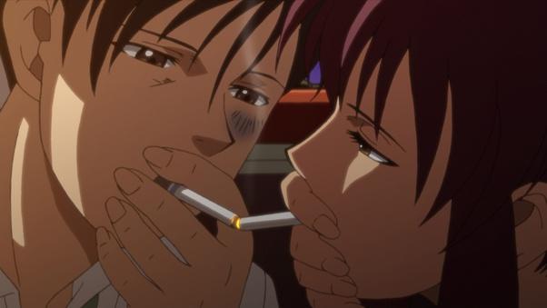 タバコを吸うカッコイイアニメのキャラクターとその銘柄は何ですか? - Quora