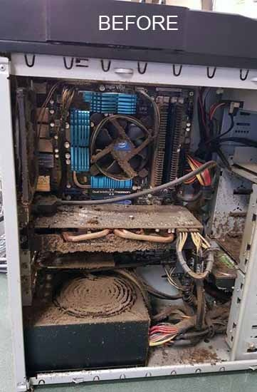 If you left your desktop tower computer running for many many years