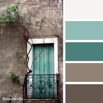 What colors complement brown quora - Bathroom color schemes brown and teal ...