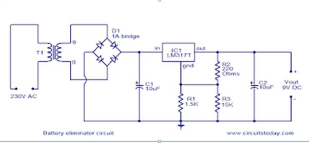 9 Volt Battery Circuit Diagram | Wiring Diagram